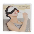 JR JR-268 Fatigue Relieve Electrical Eye Massager w/ Music - White (AC 220V)