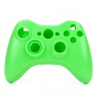 Replacement Full Housing Case w/ Buttons Kit for Xbox 360 Wireless Controller - Green