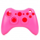 Replacement Full Housing Case w/ Buttons Kit for Xbox 360 Wireless Controller - Pink
