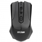 Fashion Car Style 2.4GHz 1000/1600 DPI Wireless Optical Mouse - Schwarz (1 x AA)