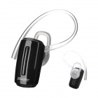 MINI-602 Bluetooth V2.1 Mono Headset w/ Earhook / EU Plug Adapter - Black