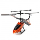 Rechargeable 3.5-CH ABS IR Remote Control R/C Helicopter w/ Gyroscope - Orange + Black