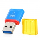 Diamond High-Speed USB 2.0 Micro SD SDHC TF Card Reader - Blue (Max. 32GB)