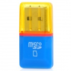 Diamond High-Speed ​​USB 2.0 Micro SD SDHC TF Card Reader - синий