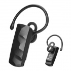 M-666 Bluetooth V2.1 Stereo Headset w/ Earhook / EU Plug Adapter - Black