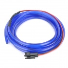 Waterproof Decorative EL Cold Light Flexible Cable w/ 12V Drive - Blue (1.5m)
