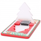 Christmas Tree Green    Card Lamp