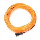 Waterproof Decorative EL Cold Light Flexible Cable w/ 12V Drive - Orange (1.5m)