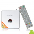 A6 Android 4.0 Network Multi-Media Player w/ Wi-Fi / HDMI / AV / SD / LAN - White (100~240V)