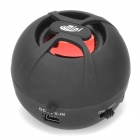 DK-606 Mini Rechargeable Speaker w/ TF for Iphone / Ipod / Cell Phone / Computer - Black