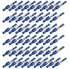 Protection Insulated Female + Male Blade Connectors - Blue (50-Pair)