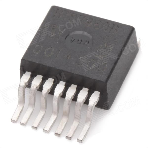 BTS7960B 5.5V~27.5V 43A Half-Bridge Driver - Black black bridge