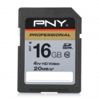 PNY SD 133X High-Speed Memory Card for SLR Camera - Black (16GB / Class 10)