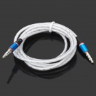 3.5mm TRRS Male to 3.5mm Male Audio Cable - White