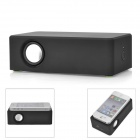 Portable Wireless Interaction Amplifying Speaker for Iphone / Samsung / HTC  - Black (3 x AA)