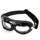 Folding Transparent PC Lens Safety Motorcycle Goggles