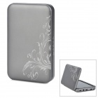 Smart 4200mAh Solar / DC / USB Powered Emergency Battery for iPod / iPhone - Grey