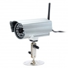 EYE SIGHT IP817TW CMOS 300KP Wireless Antenna Waterproof IP Network Camera w/ Micro SD Card - Silver