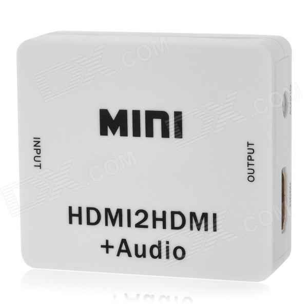 HDV-M612 HDMI para HDMI Audio Video Converter - Branco