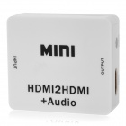 HDV-M612 HDMI to HDMI Audio Video Converter - White