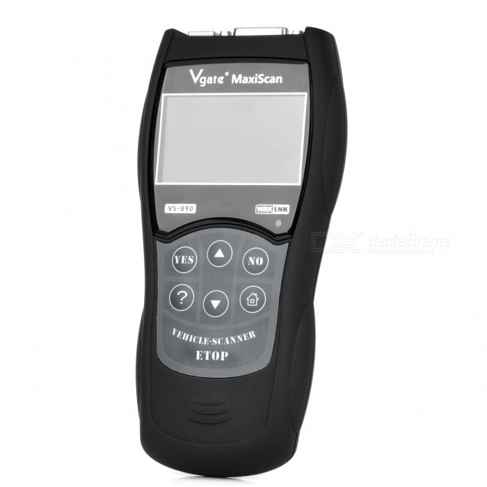 2012 Newly Professional 3.0 LCD Auto Code Reader Vgate Scantool Maxiscan VS890