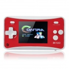 "2,4 ""LCD Portable Game Console w / AV-Out / Speaker - Red + White (3 x AAA)"