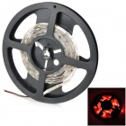 Waterproof 24W 300lm 60-SMD 5050 LED Red Car Decoration Light Strip (12V / 2m)