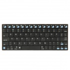 Mini Bluetooth V3.0 Ultra-thin 80-Key Keyboard for Ipad / Ipad2 / PC / Smartphone / HTPC - Black
