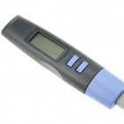 "Outdoor 1.65"" LCD Digital Barbecue BBQ Grill Fork Thermometer - Black + Blue (-50'C~150'C / 2 x AAA)"