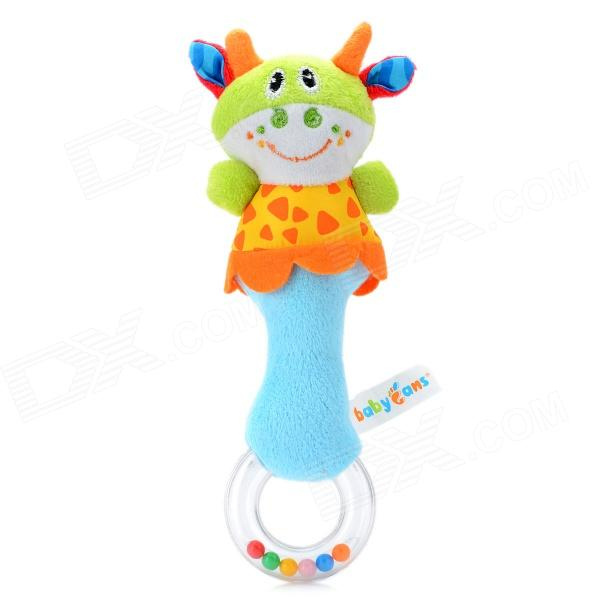 Cute Cow Pattern Baby Hand Bell - Blue + Green защитная пленка membrane anti bacterial