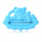 Cute Bear Style Infant Water Thermometer - Blue