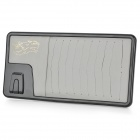 Multi-Functional Hanging Type CD DVD Card Holder - Grey