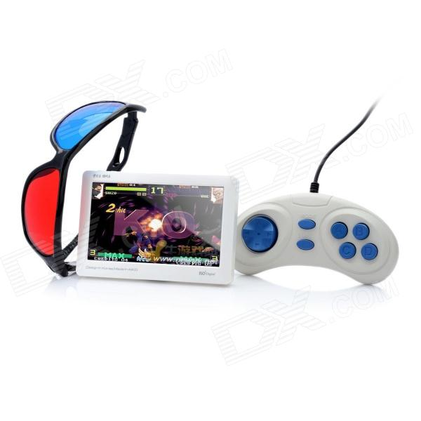 "KO Q1 4.3"" TFT Touch Screen Multi-Media Player w/ 3D Glasses / TF - White"