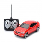 PZ190-1 1 : 24 2-CH Radio Control R/C Car Toy w/ Remote Control - Red (4 x AA / 1 x 9V)