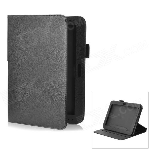 Detachable Protective PU Leather Case for Samsung Galaxy Note 10.1 / GT-N8000 - Black