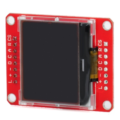 Mini12864 Blue Backlight Dots Graphic LCD Display Module - Red