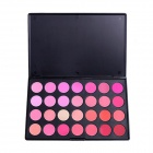 Portable 28-Color Makeup Powder Blusher Palette