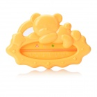 Cute Bear Style Infant Water Thermometer - Yellow