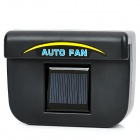 Solar Powered Car Auto Air Vent Cooling Fan - Black