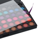 Portable 120-Color Cosmetic Makeup Eye Shadow Palette - Cold + Warm Color Series