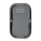 Car Multi-Functional Skidproof Mat + Mobile Phone Holder - Black