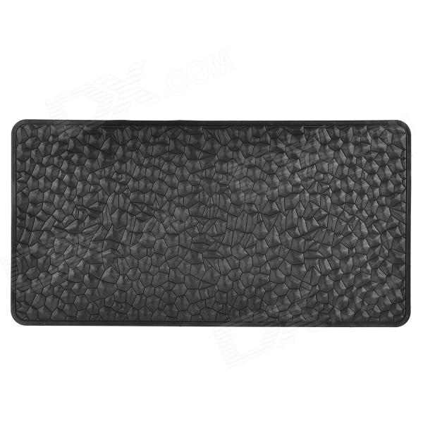 Silicone Non-Slip Mat Cushion for Vehicles - Black