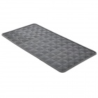 Cat Eye Style Silicone Non-Slip Mat Cushion for Vehicles - Black