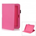 Abnehmbare Protective PU Ledertasche für Samsung Galaxy Note 10,1 / GT-N8000 - Pink