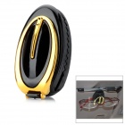 Car Vehicle Sun Visor Clip Sunglasses / Eyeglass Holder - Golden + Black