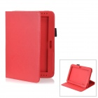Detachable Protective PU Leather Case for Samsung Galaxy Note 10.1 / GT-N8000 - Red