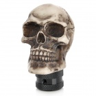 Cool Skull Style Car Shift Gear Knob - Beige