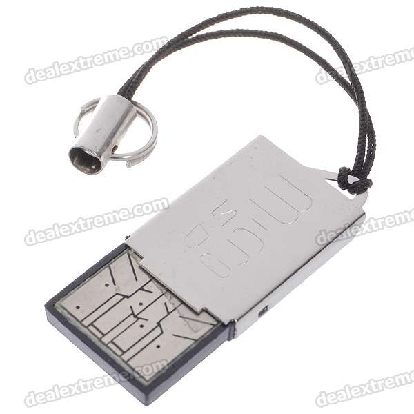 USB 2.0 SDHC TF Card Reader