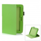 Detachable Protective PU Leather Case for Samsung Galaxy Note 10.1 / GT-N8000 - Green