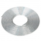 Car Chrome Effect PVC Air Vent Decorative Strip - Silver (15m)